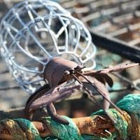 Tin Lobster | Metal Lobster | Model Lobster | Lobster Pot